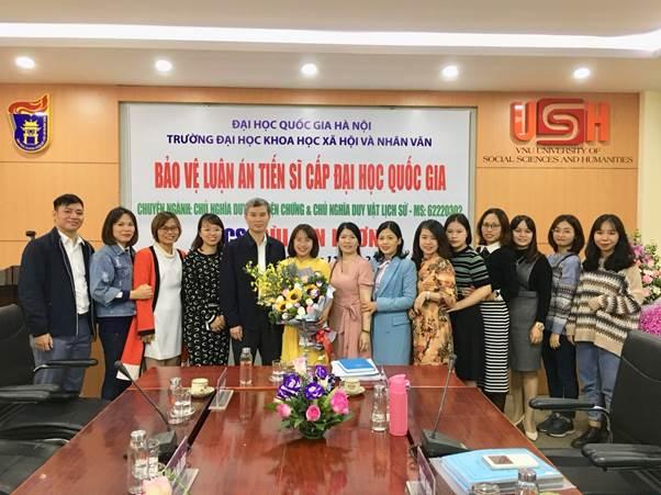 Lễ bảo vệ Luận án tiến sĩ của NCS Bùi Lan Hương