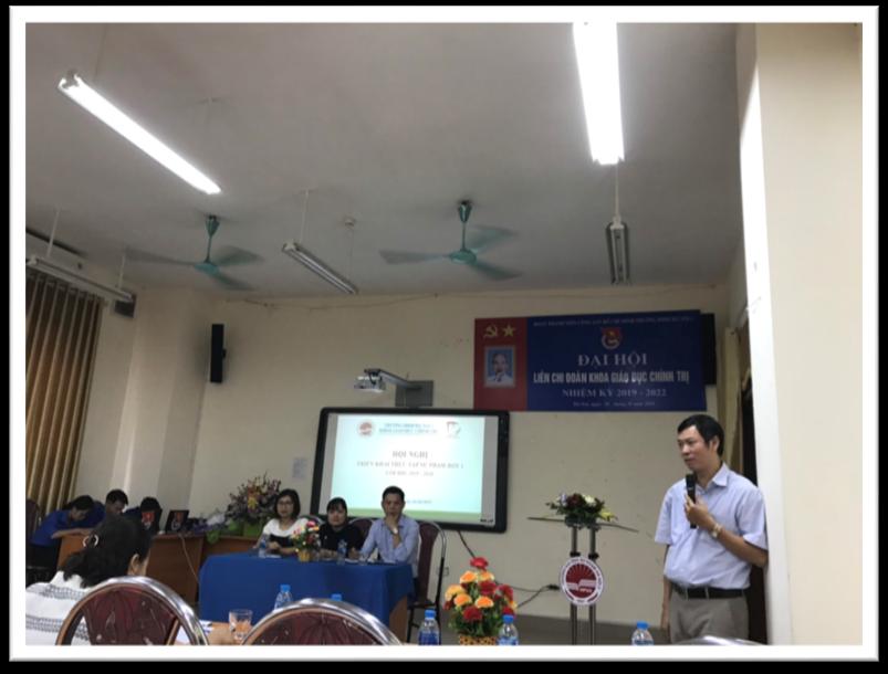 Hội nghị triển khai thực tập sư phạm đợt 1 năm học 2019 - 2020 thành công tốt đẹp